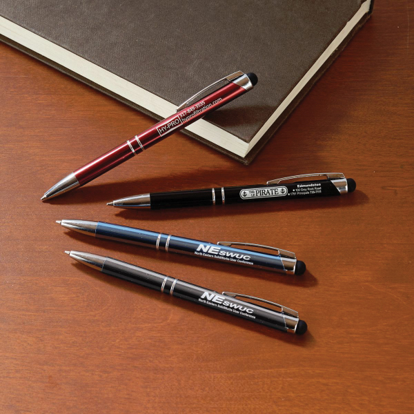 Printed Boardroom Metal Pen with Stylus