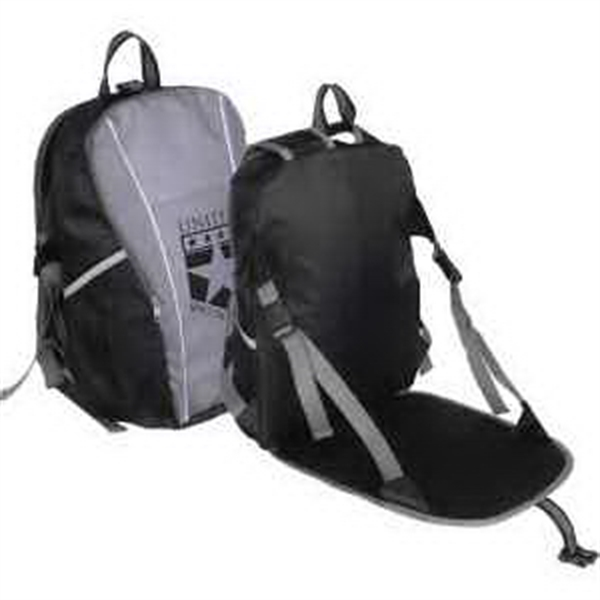 Promotional Eastlake Backpack with Seat Cushion