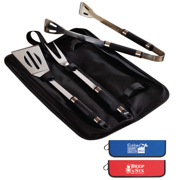 Personalized Three piece BBQ set