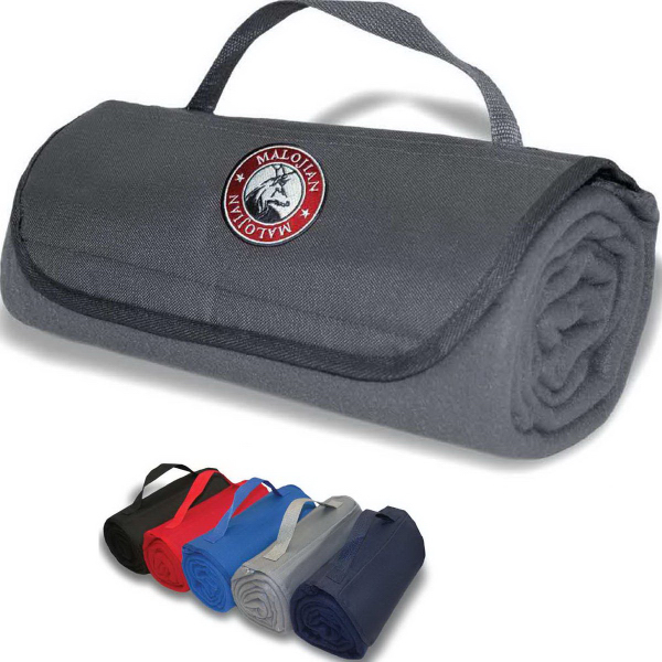 Imprinted Rollup Picnic Blanket