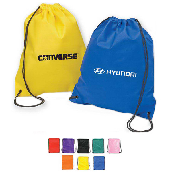 Printed Non Woven Drawstring Backpack