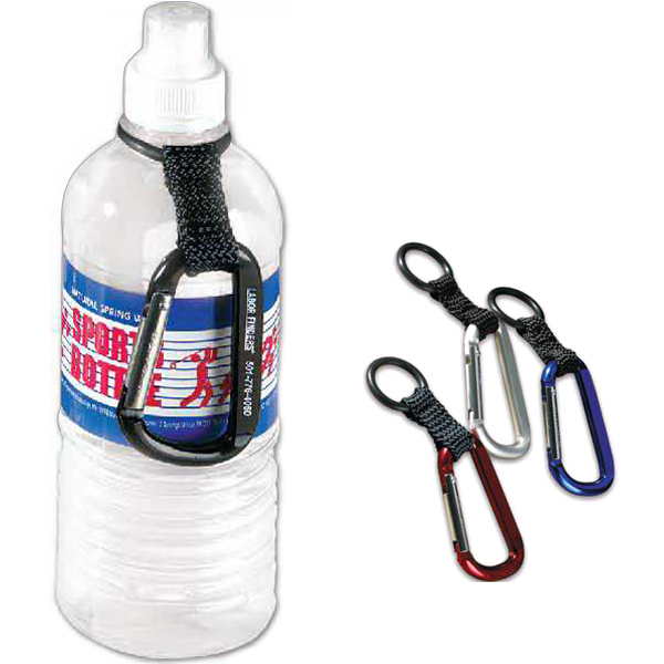 Printed Carbiner water bottle holder