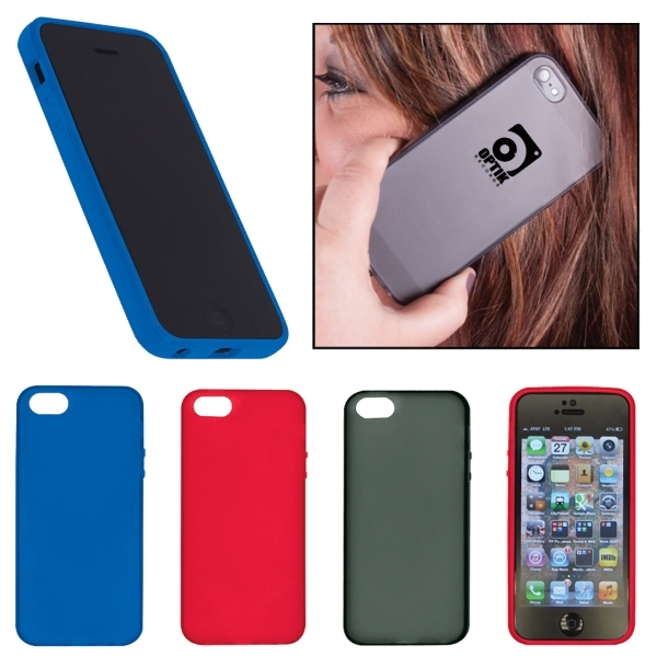 Custom Gel Plastic Smartphone Case - iPhone 5/5S