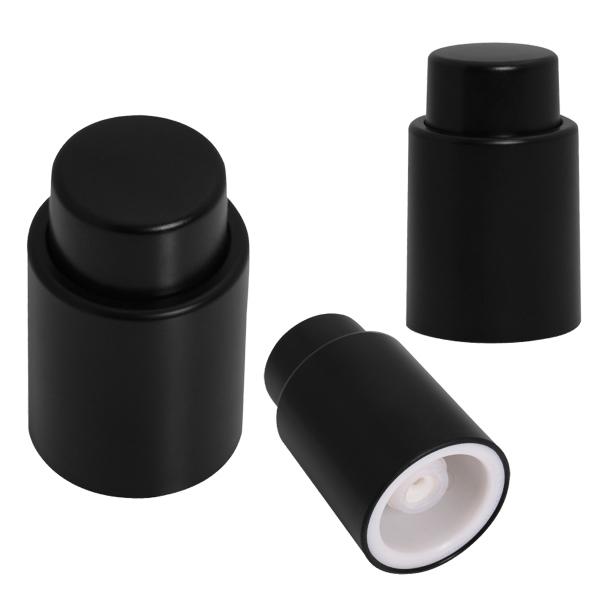 Printed Wine Vacuum Stopper With Pump
