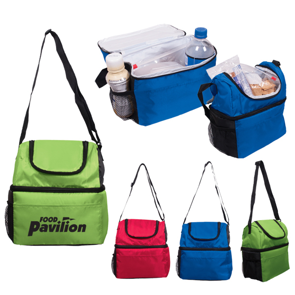 Custom Duo Compartment Lunch Pail