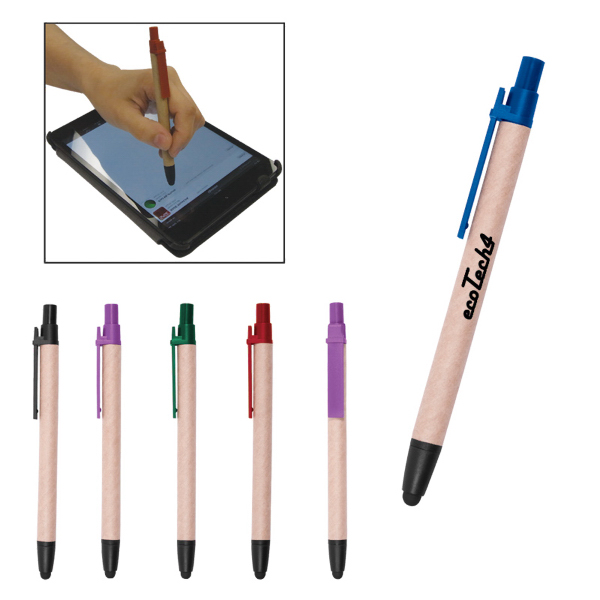 Printed Recycled Duo Pen/Stylus