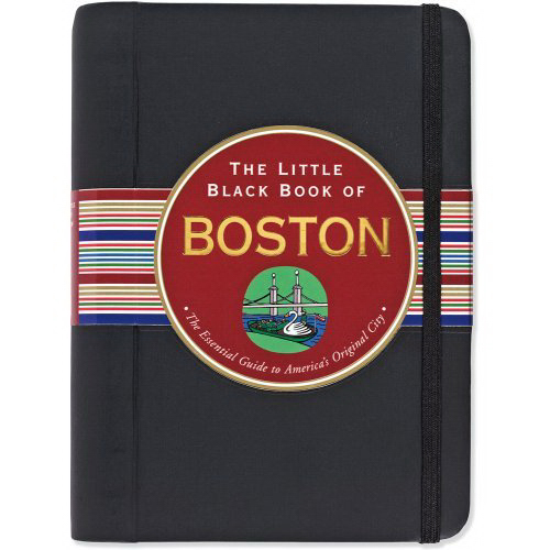 Imprinted Little Black Book of Boston