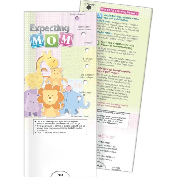 Promotional Pocket Slider - Expecting Mom