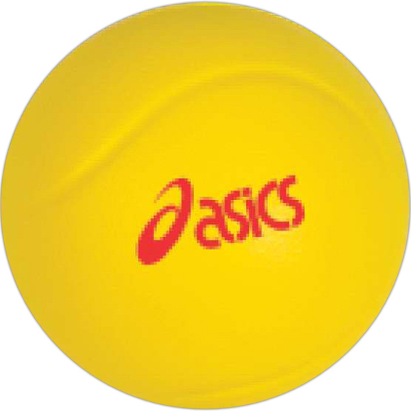Printed Targetline Tennis Ball Stress Reliever