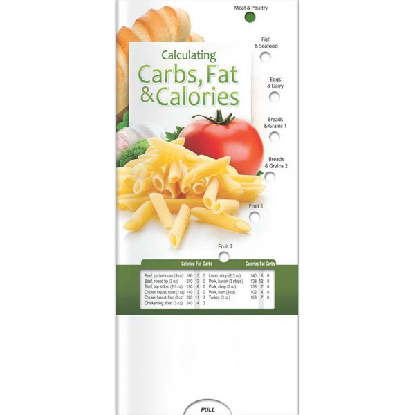Personalized Pocket Slider - Calculating Carbs, Fat, and Calories