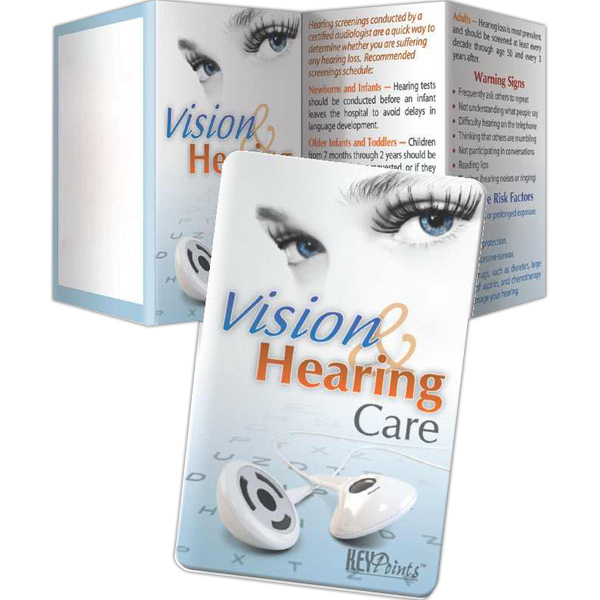 Printed Key Points - Vision and Hearing Care