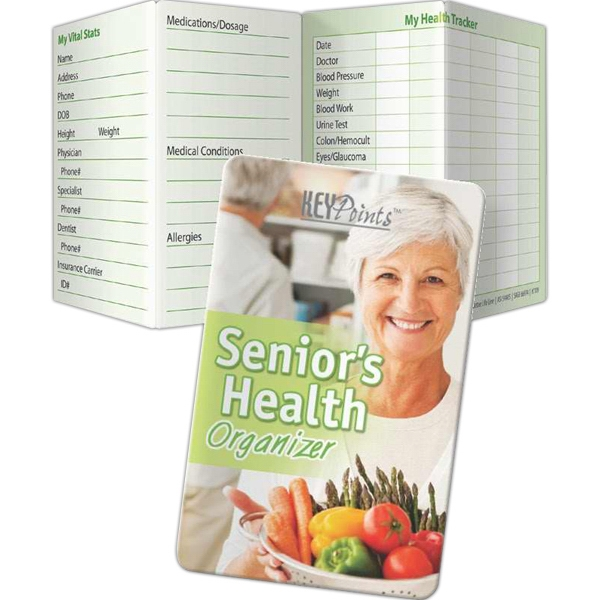 Printed Key Points - Senior's Health Organizer