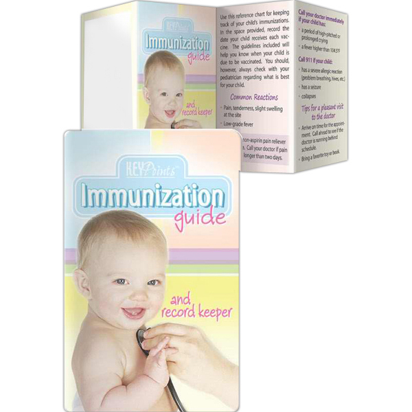 Imprinted Key Points - Immunization Guide and Record Keeper