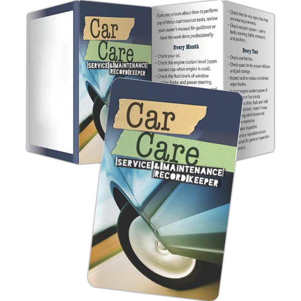 Customized Key Points - Car Care: Service and Maintenance Record Keeper