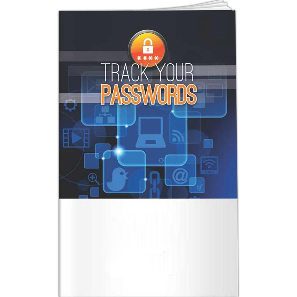 Printed Better Books - Track Your Passwords
