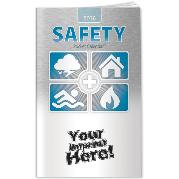 Custom Pocket Calendars - 2015 Safety