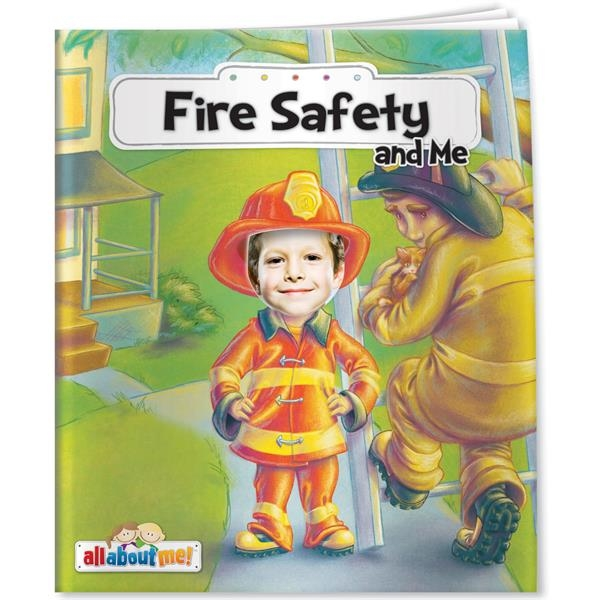 Personalized All About Me - Fire Safety and Me