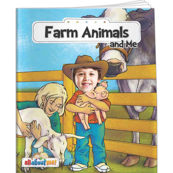 Customized All About Me - Farm Animals and Me