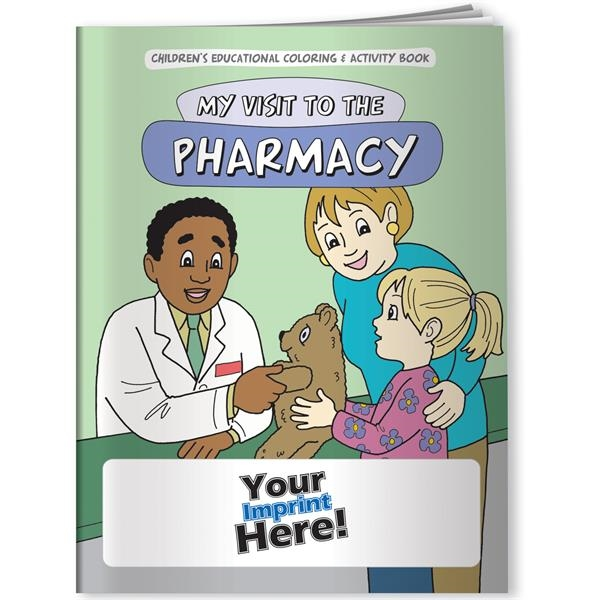 Printed Coloring Book - My Visit to the Pharmacy