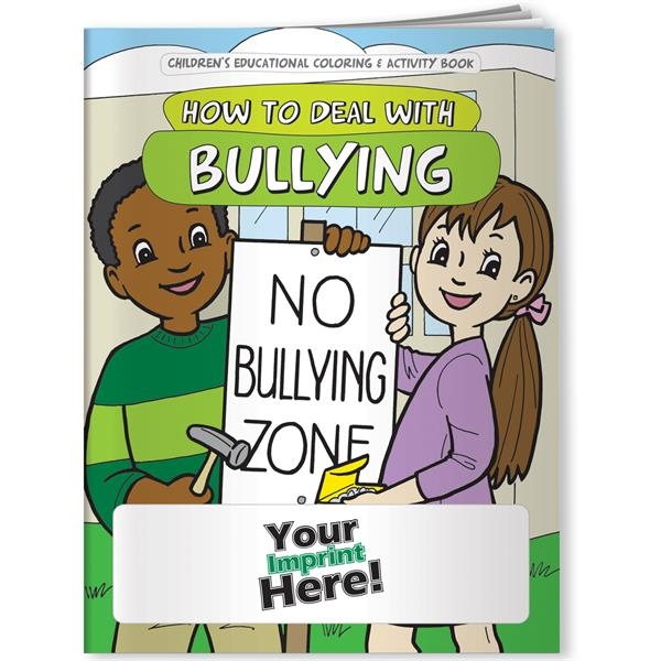 Customized Coloring Book - How to Deal with Bullying