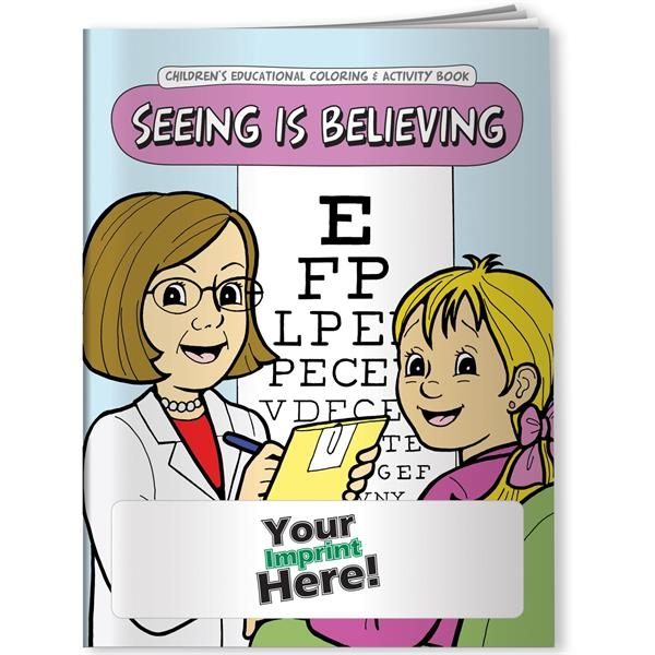 Personalized Coloring Book - Seeing is Believing