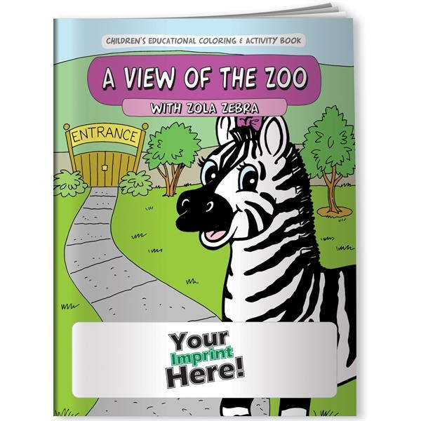 Promotional Coloring Book - A View of the Zoo with Zola Zebra