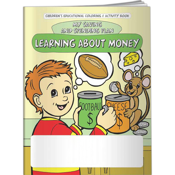 Promotional Coloring Book - Learning About Money: My Saving and Spending