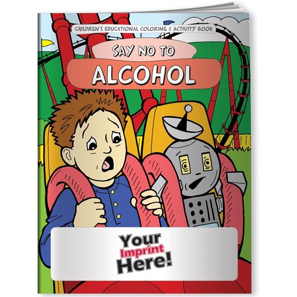 Customized Coloring Book - Say NO to Alcohol