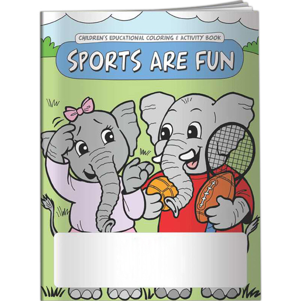 Promotional Coloring Book - Sports are Fun