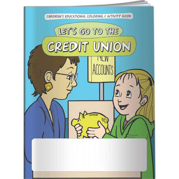 Promotional Coloring Book - Let's Go to the Credit Union