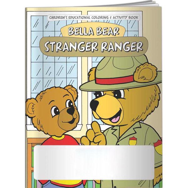 Personalized Coloring Book - Bella Bear: Stranger Ranger
