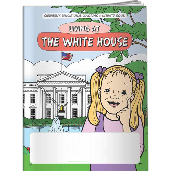 Custom Coloring Book - Living at The White House