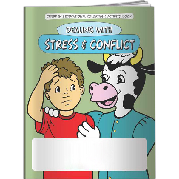 Promotional Coloring Book - Stress and Conflict