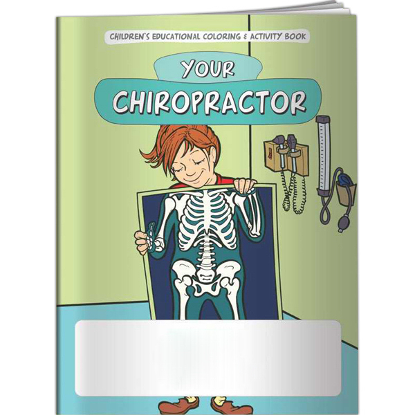 Customized Coloring Book - Your Healthy Bones and Body