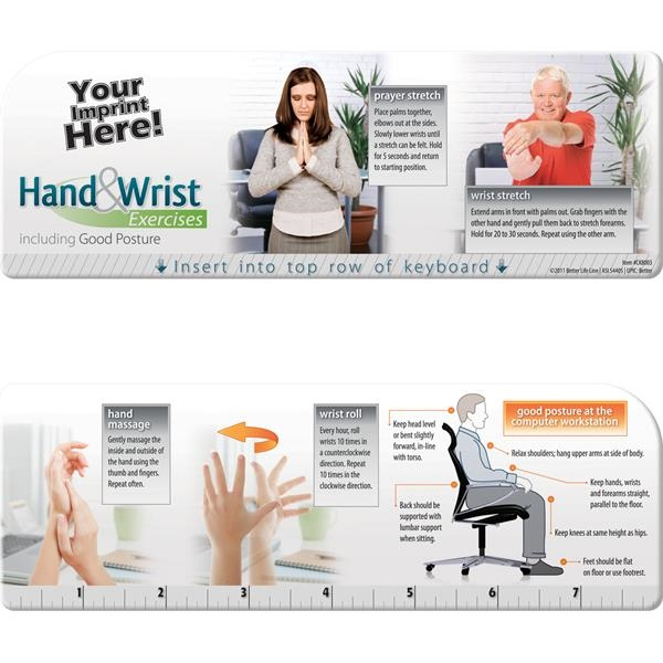 Customized Keyboard Wiz - Hand and Wrist Exercises