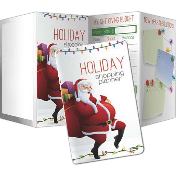 Personalized Key Points - Holiday Shopping Planner (Santa Design)