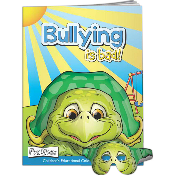 Printed Fun Masks - Bullying is Bad