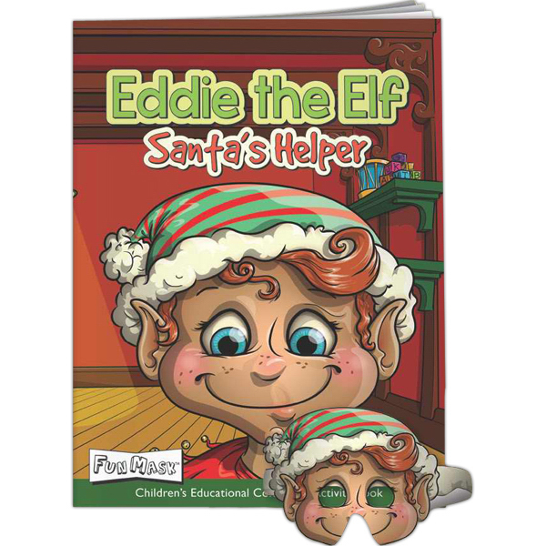 Customized Mask Coloring Book-Eddie The Elf