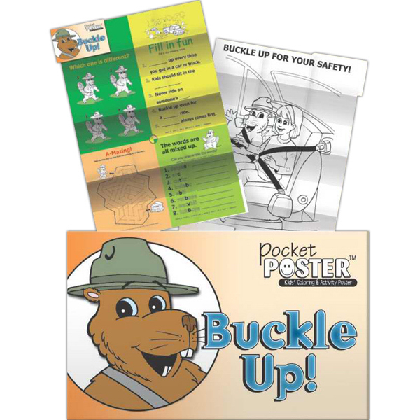 Promotional Pocket Posters - Buckle Up!