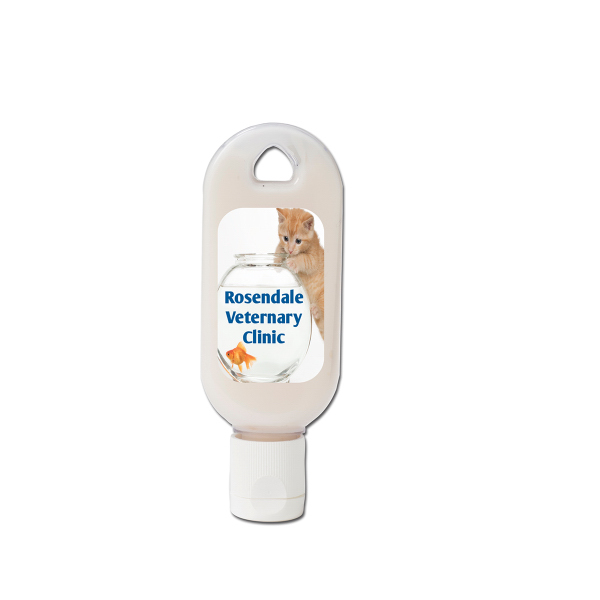 Imprinted Unscented Skin Lotion Press-Top Tottle Bottle