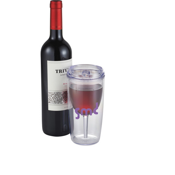 Imprinted Viva 12 oz. Wine Tumbler