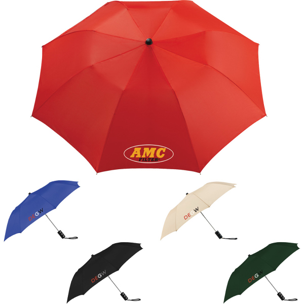 "Customized Seattle 36"" Folding Auto Umbrella"