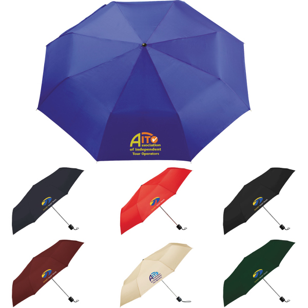 "Promotional Pensacola 41"" Folding Umbrella"