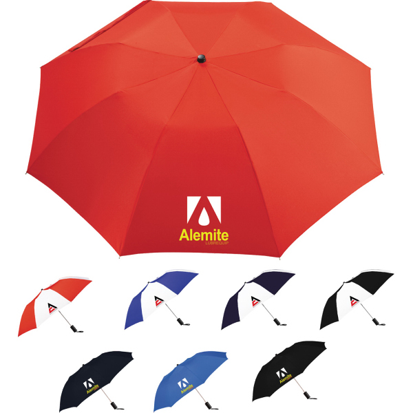 "Promotional Miami 42"" Auto Folding Umbrella"