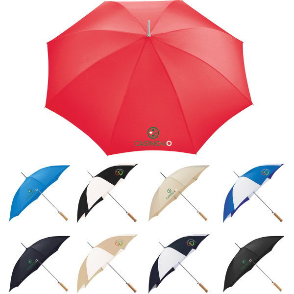 "Customized Nola 48"" Steel Fashion Umbrella"