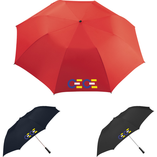 "Customized Lafayette 56"" Auto Folding Golf Umbrella"