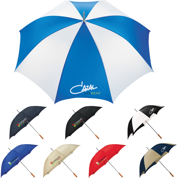 "Personalized Palm Beach 60"" Steel Golf Umbrella"