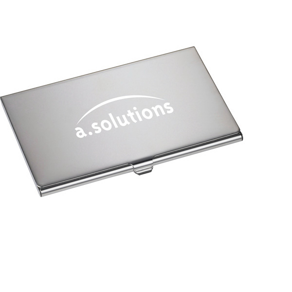 Printed Traverse Business Card Holder