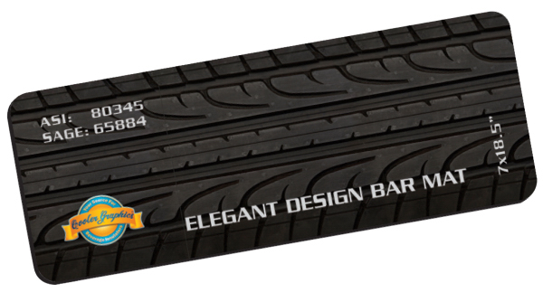 Custom Elegant Design Bar Mat
