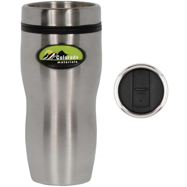 Custom Photo Vision 16 oz. Stainless Steel Tumbler
